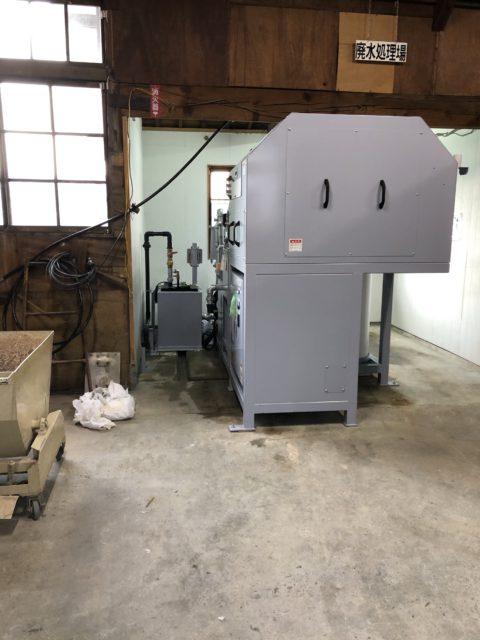 水処理装置 据付工事