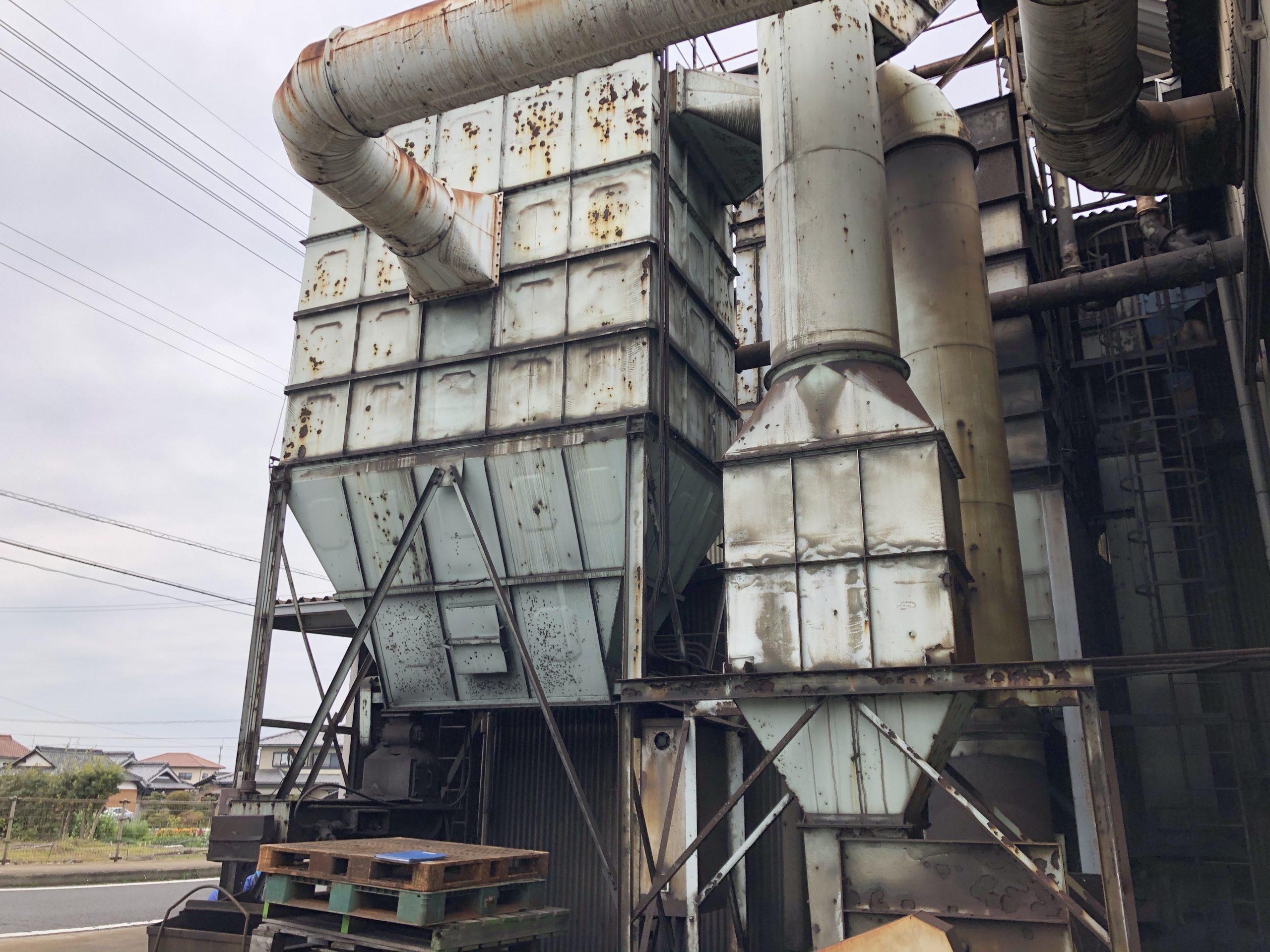 香川県 集塵機更新工事